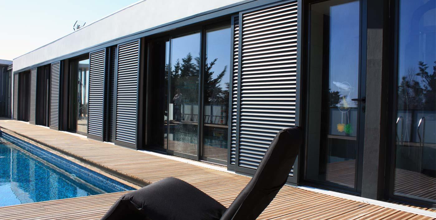 volets aluminium aluminium syst mes guingamp. Black Bedroom Furniture Sets. Home Design Ideas